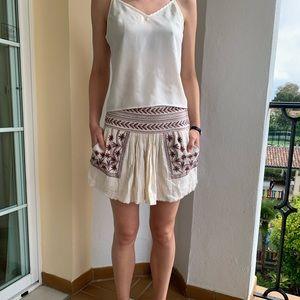 Isabel Marant Étoile Embroidered Skirt